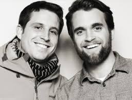 Kai Smith (left) and Sean Sullivan are co-founders of Buoy Local, a Portland startup that offers gift cards to be redeemed at participating local businesses.
