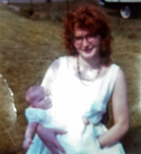 My christening day, nearly 50 years ago. She was so beautiful.