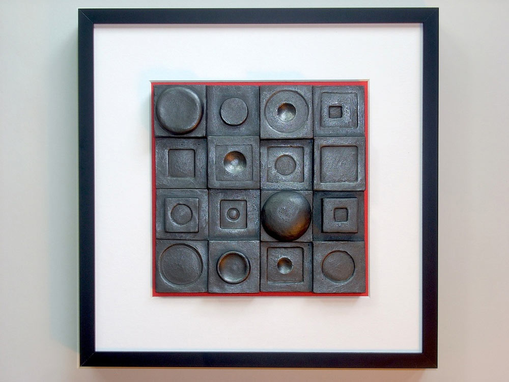 Square Circle no. 1 by Cynthis Smith