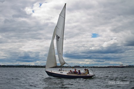 Sailing on Casco Bay with Baxter Brewing Crew