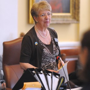 Assistant Senate Majority Leader Anne Haskell, D-Portland. BDN photo by Gabor Degre.