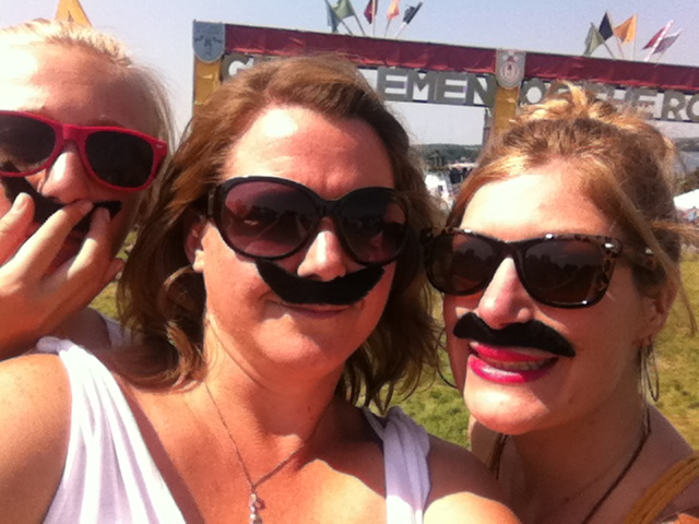 Love the fun moustaches! This picture was sent in by Ceriese Fennimore. Great work getting into the theme!