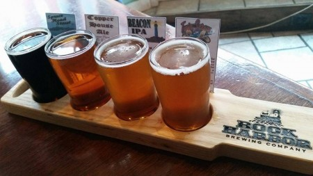 rock harbor beer flight