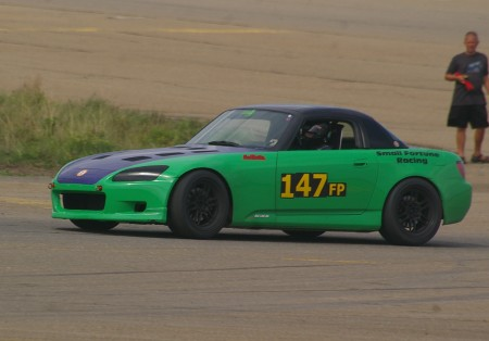 Mark Chessick of New Hampshire will be one of the fastest time contenders in his Honda S2000