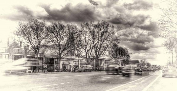 Rush Hour - Nashua by Mike Dumont