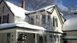 Ice Dams | Evergreen Home Performance | Attic Insulation | Maine