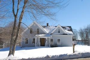 Evergreen Home Performance | Energy Efficiency Case Study | Attic Insulation & Basement Encapsulation | Cushing, Maine