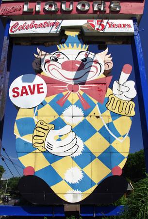 Calico the Evil Clown, in Middletown NJ.