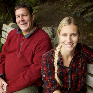 """John Holyoke and Aislinn Sarnacki are two of the BDN staffers who will make regular appearances on 92.9 """"The Ticket"""" and its afternoon show, """"The Drive."""""""