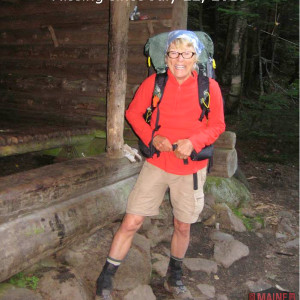 "Geraldine Largay  is shown in the last known photo taken of the Appalachian Trail hiker, whose trail name was ""Inchworm."" (Photo courtesy of Maine Warden Service)"