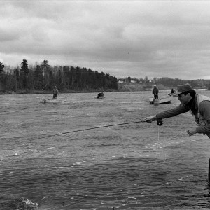Opening Day, Salmon fishing. May 1, 1992. (BANGOR DAILY NEWS FILE PHOTO BY MARC BLANCHETTE)