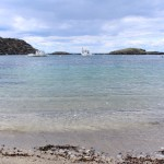 BDN photo by Aislinn Sarnacki. A view from the small beach on Monhegan Island in May 2014.