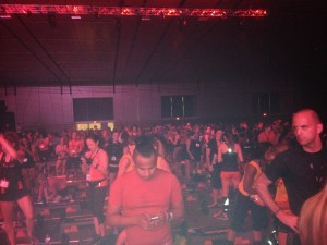 Saturday's BodyPump masterclass in New Orelans was the largest BodyPump class in U.S. history