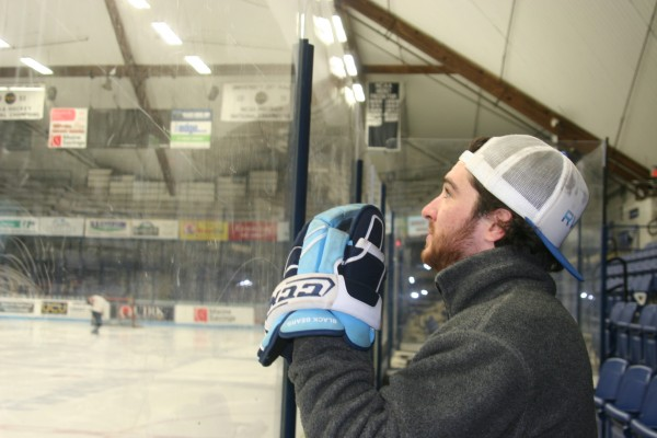 Former University of Maine men's hockey player Kyle Solomon had to give up the game he loved after a number of concussions ended his career.