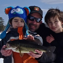 ice fishing will be replaced by regular fishing this spring