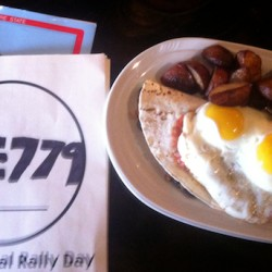 50 POINTS: A rancho huervos breakfast at the Bayou Kitchen in Portland, Maine.