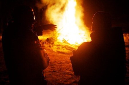 The ancient art of fireside storytelling. Troy R. Bennett | BDN