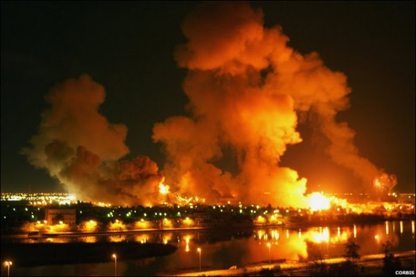 The war in Iraq began in 2003 with an attack known as &quotShock and Awe.&quot
