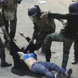 Egyptian women decry abuse by soldiers