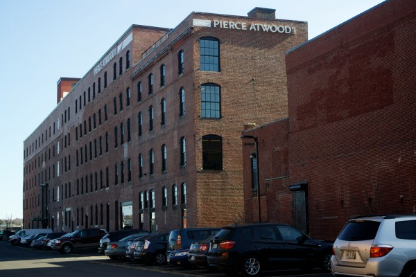 The former factory and cannery on Merrill's Wharf in Portland, now occupied by the law firm Pierce Atwood, was recently placed on the National Register of Historic Places.