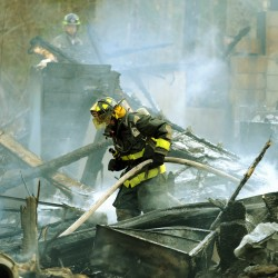 Early morning fire damages Levant home