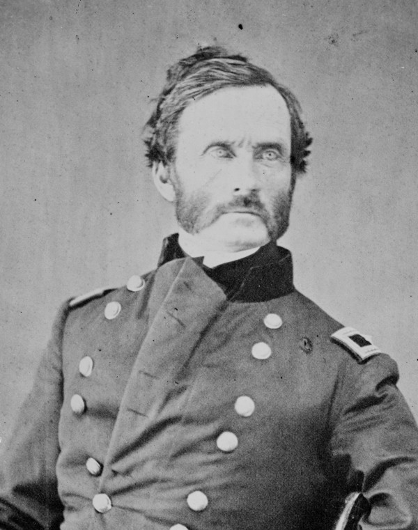 James Henry Carleton of Lubec commanded the California Column that drove Confederate troops from Arizona and New Mexico in spring 1862. Carleton's troops fought Confederates and Apaches.