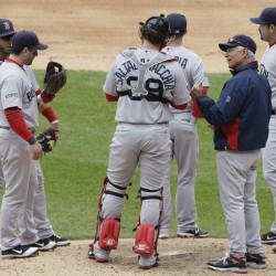 Teixeira powers Yankees past Red Sox in slugfest