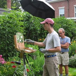 Artist Philip Frey will be leading a Plein Air Painting workshop at Woodlawn, Saturday, June 30, from 9 am-4pm.  Cost is $125 for Woodlawn members/$135 for non-members.  Call Woodlawn at 667-8671 for details and registrations.