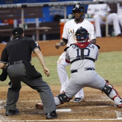 Marlins' Stanton sinks Red Sox