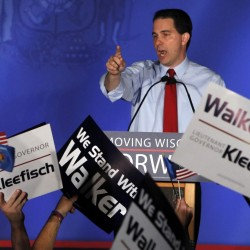 Obama re-election map shaken after Wisconsin governor's victory in recall election
