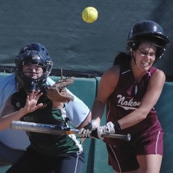 Illegal-pitch calls didn't bother Old Town softball senior Kendra Hayward
