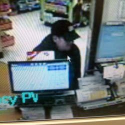 Surveillance footage of man Windham police say robbed a Walgreens pharmacy on Roosevelt Trail on Saturday, July 21. Windham police are still searching for the suspect that is described as a white male between 5-foot-2 and 5-foot-4, wearing a ball cap, sunglasses and a black hooded sweatshirt.