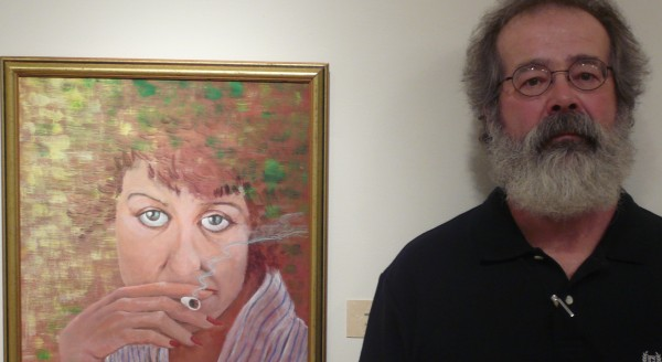 A glimpse of a total immersion portrait project by Steuben artist Robert Bryson is now on exhibit at the University of Maine at Machias. Bryson's work was inspired by an obscure 1944 novel by Spanish surrealist Salvador Dali.