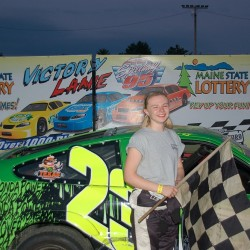 Becky Elston carrying on family tradition of racing at Speedway 95
