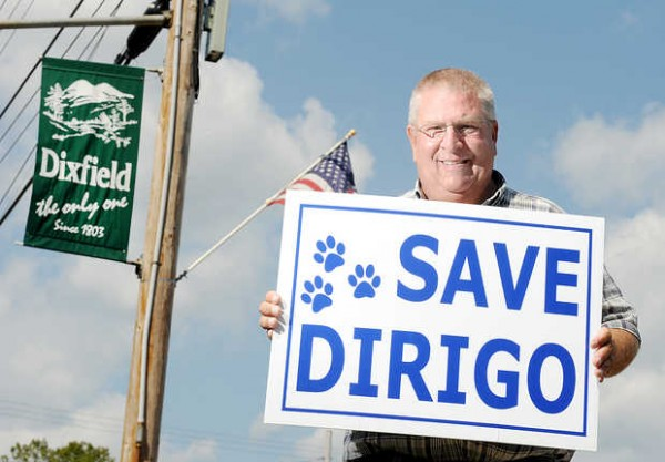 Jon Holmes of Dixfield is spearheading his town's campaign to leave RSU 10.