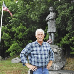 'North to Freedom' statue in Brewer only official Maine memorial to Underground Railroad