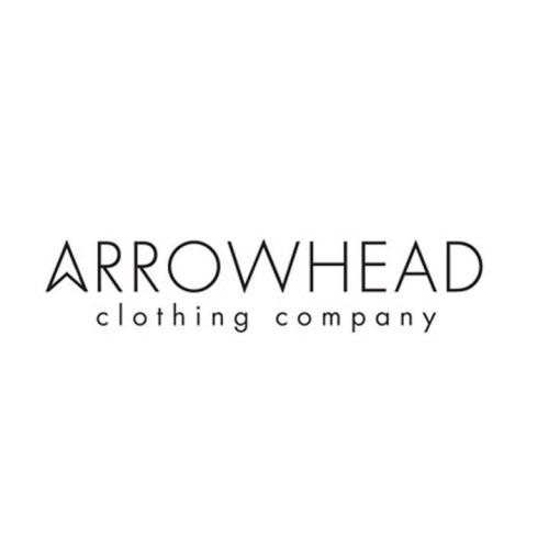 Logo for Suzanne MacFadyen's organic clothing business, Arrowhead Clothing in Portland.