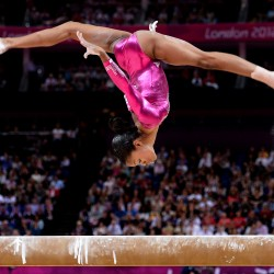 Gabrielle Douglas soars to all-around gymnastic gold at London Olympics