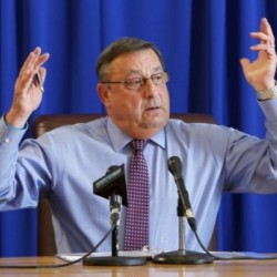 LePage confirms he will run for re-election during fundraiser featuring Jeb Bush