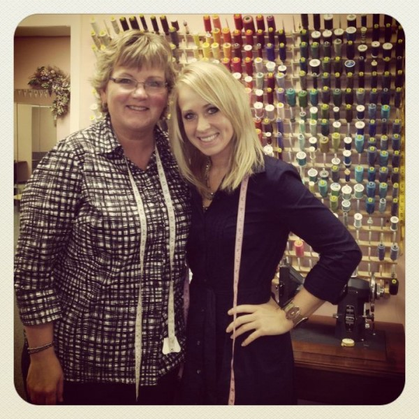 Terry Burtchell (left) and her daughter, Holly Burtchell, pose at The Seamstress, the family-run store in The Aroostook Centre Mall in Presque Isle. Terry Burtchell moved her business to the mall in 2009, and taps into 36 years of experience to satisfy customer requests. Holly Burtchell recently branched out to open her own event planning business, Weddings By HollyAnn, which she operates out of the store.