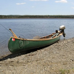 Anyone with information leading to the recovery of this 20-foot Old Town Guides Special canoe taken from the Allagash public landing on or around Aug. 12 may end up with a reward -- $250 and a gallon of gin.