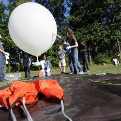 Balloon launch inflates Bangor students' educational experience