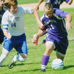 Hampden boys soccer team edges Bangor in 2OT to secure first place in Eastern Maine Class A