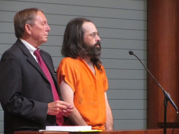 Andrew Kierstead made an initial appearance Monday afternoon, Oct. 1, 2012 in Rockland District Court, accompanied by his attorney Steven Peterson of Rockport.