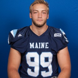 Cole excited to resume quest for UMaine QB sacks record after rehabbing leg injury