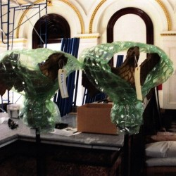 Historic hand-carved eagle statues stolen from U.S. Custom House, Portland police say