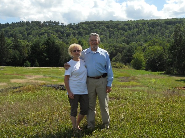 Bruce and Jane Sigsbee recently entered into an agreement with the Georges River Land Trust to conserve their property in Hope, Union and Appleton.