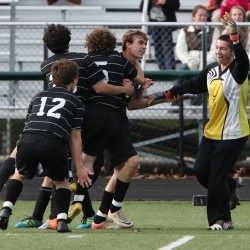 Cleaves' double-overtime goal gives Waynflete boys Class C soccer title