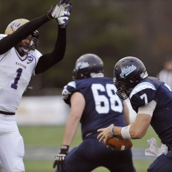 Former QB Clay emerges as hard-hitting senior leader in UMaine secondary