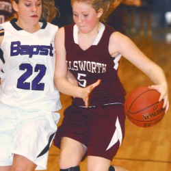 Strong first half propels Hermon girls by Ellsworth